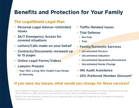 Legal Shield identity protection